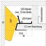 LED kolajnica navod
