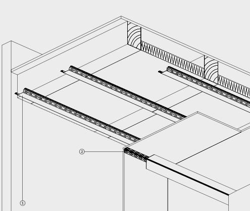 aplikacia hut profilu na tramovy strop